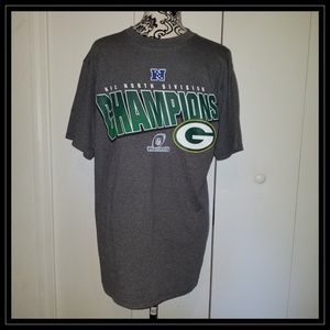 Green Bay Packers Division Champions T Shirt M